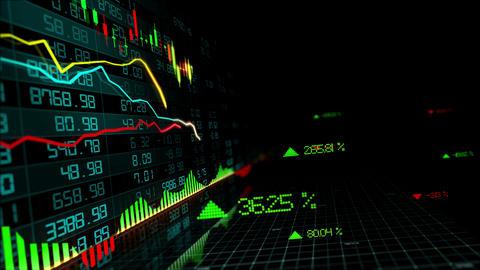 Stock Market Indices Animation
