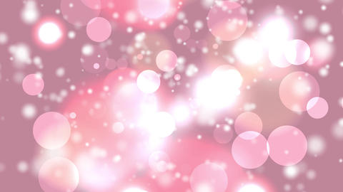 delicate pink yellow circle bokeh lights Animation