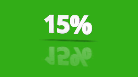 20 Green Sales Percent Animation 1