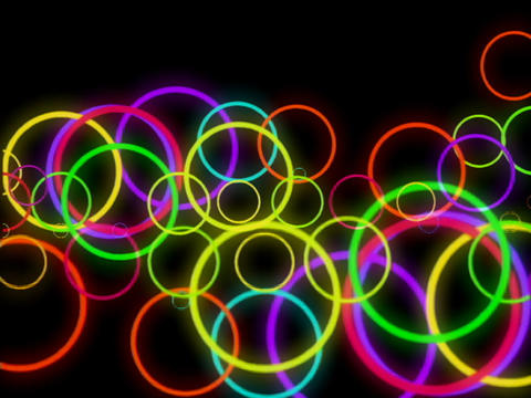 Multi Clr Circles Pulse Animation