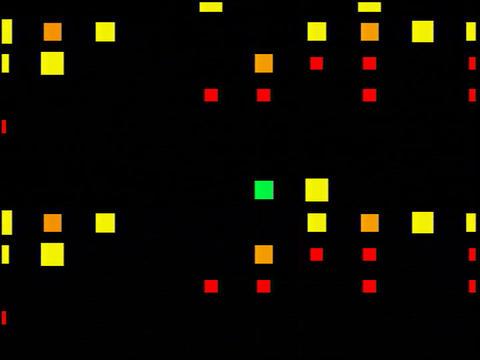 Multi Clr Squares Flash(L) Stock Video Footage