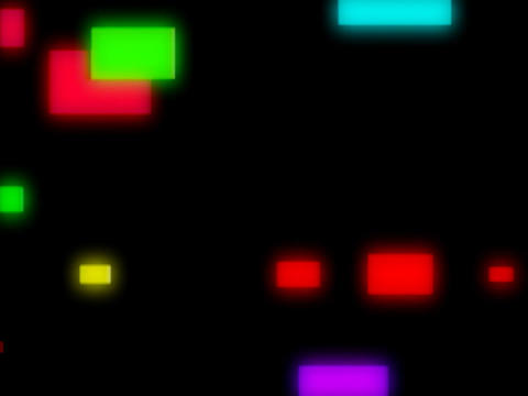 Multi CLr Squares Pulse Animation