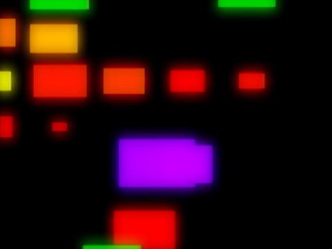 Multi CLr Squares Pulse Stock Video Footage