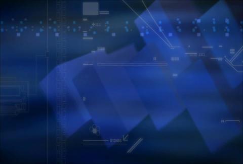 Blue purple tech(L) Stock Video Footage