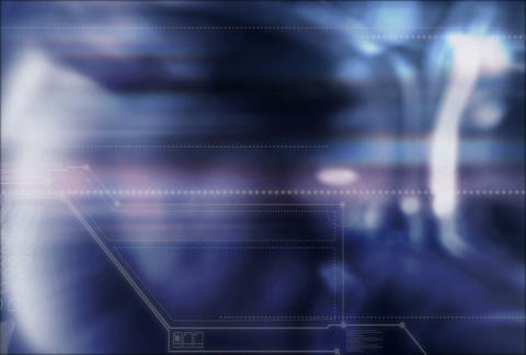 Blue Soft w tek(L) Stock Video Footage