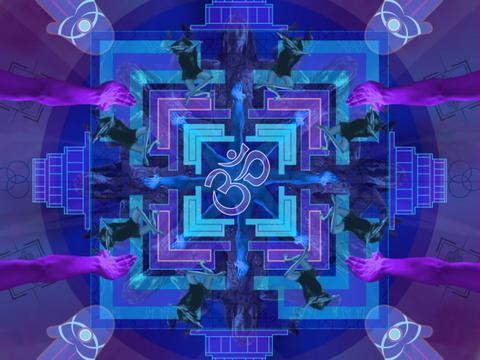 BLUE OHM mandala Animation