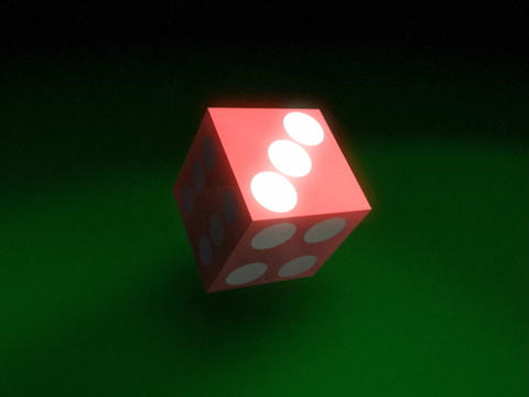 Dice Roll 2 Stock Video Footage