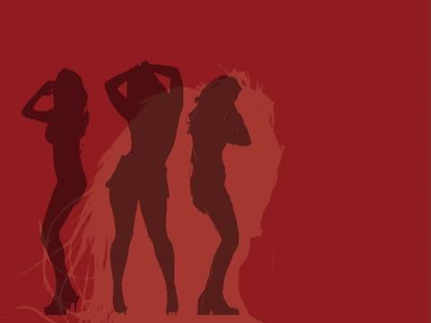 VJ Loops: GIRLS GIRLS GIRLS cut2 4 35 Footage
