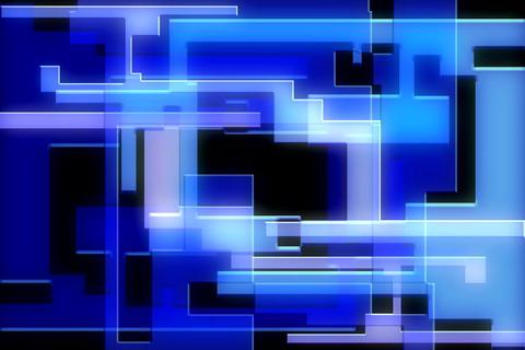 VJ Loops : Vector Spline Morphs Stock Video Footage