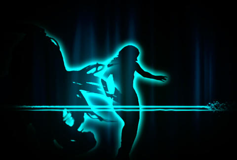 VJ Loops : Waveform Dancers DL 02 Animation