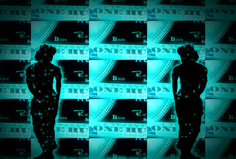 VJ Loops : Waveform Dancers DL 08 Stock Video Footage