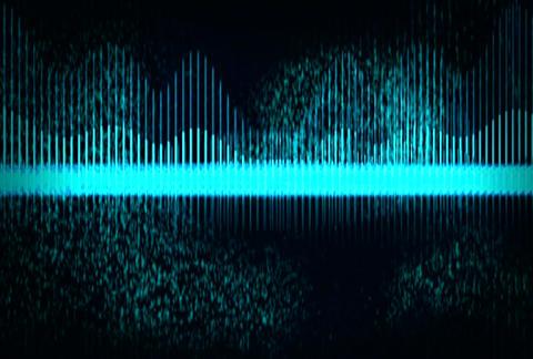 VJ Loops : Waveform 01 Stock Video Footage
