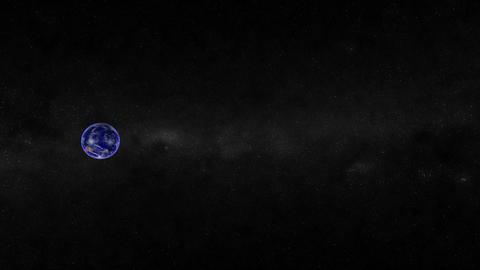 Earth - Moon. CG. HD Animation