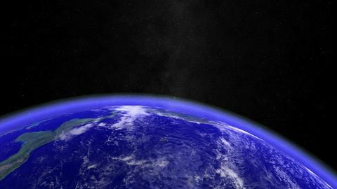 Earth - Moon. CG. HD Stock Video Footage