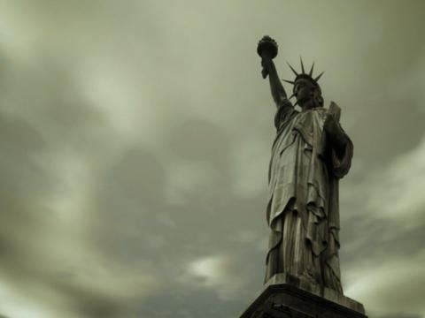 Freedom Welcomes All Stock Video Footage