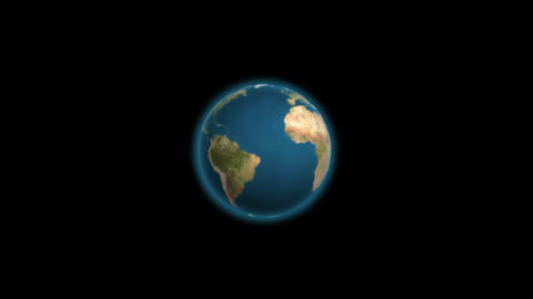 Earth Click Stock Video Footage