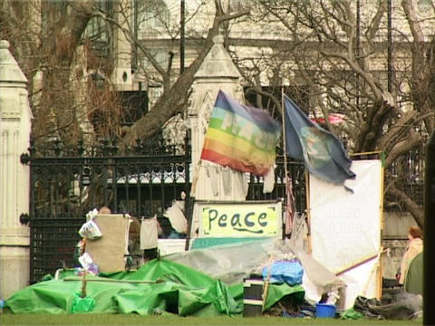 Peace Demonstration Footage
