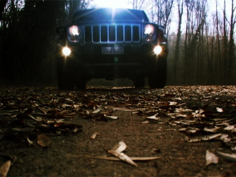 Jeep Commander 1 Stock Video Footage