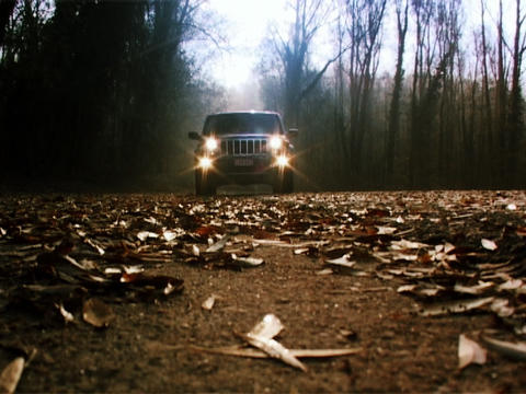 Jeep Commander 3 Stock Video Footage