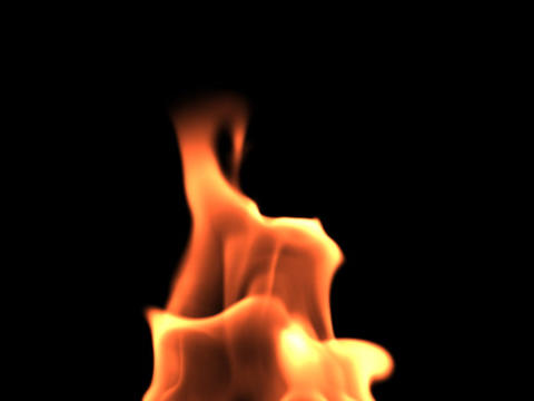 Fire Flame stock footage