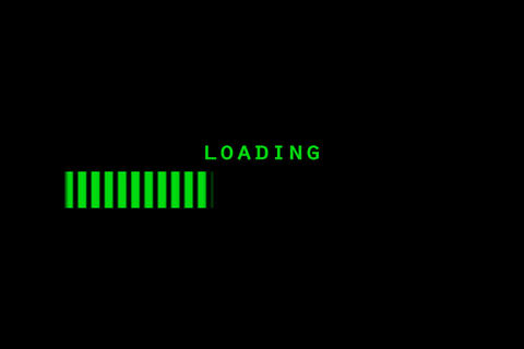 Loading Stock Video Footage