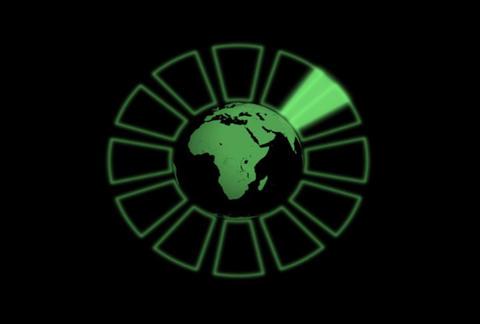Globe Radar Stock Video Footage