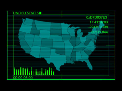 Digital USA Stock Video Footage