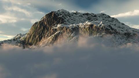 1055 Snow Mountain Wilderness Winter Landscape Stock Video Footage