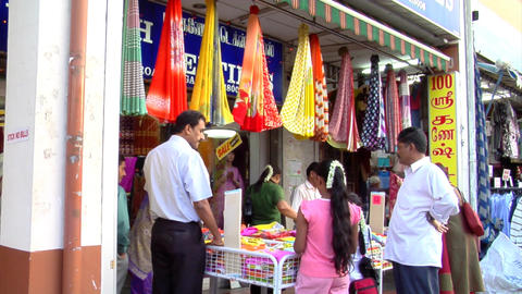 Little India Shop Stock Video Footage