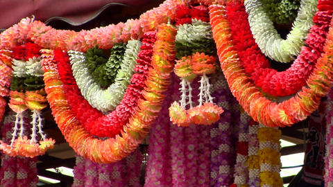 Indian Decorations Stock Video Footage