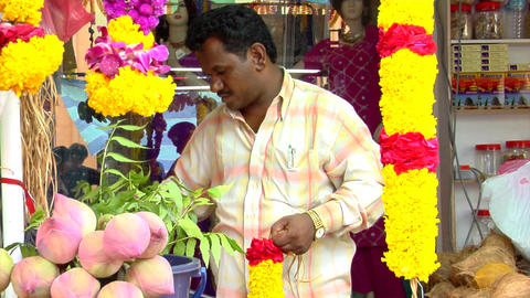 Indian Man Stock Video Footage