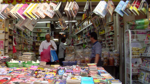 Little India Magazine Shop Footage