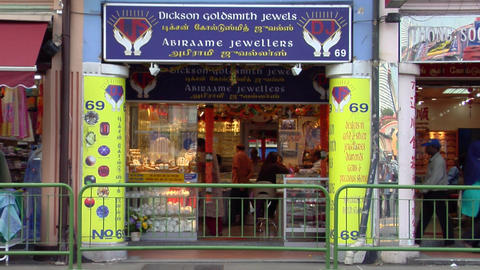 Little India Shops Again Stock Video Footage