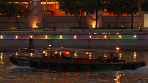 Singapore Bumboat Footage
