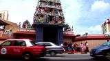 Sri Mariamman Temple Tilt Up stock footage