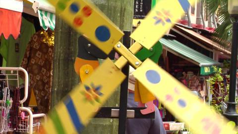 Malay Windmill Stock Video Footage