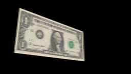 Exploding Dollar 539 Stock Video Footage