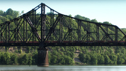 Coal Train 537 Stock Video Footage