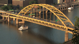 Fort Pitt Bridge 517 Footage