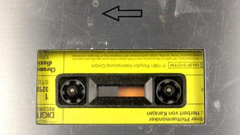 cassette_rewind05 Stock Video Footage