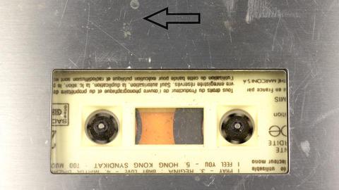 cassette_rewind05 Footage