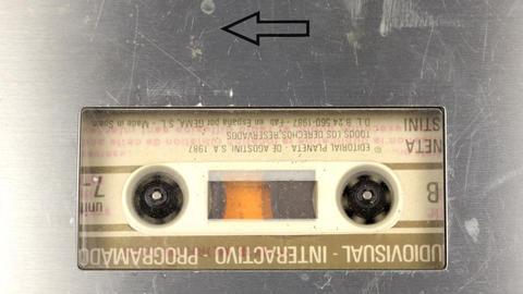 cassette_rewind07 Stock Video Footage