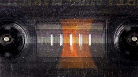 cassette_rewind09 Stock Video Footage