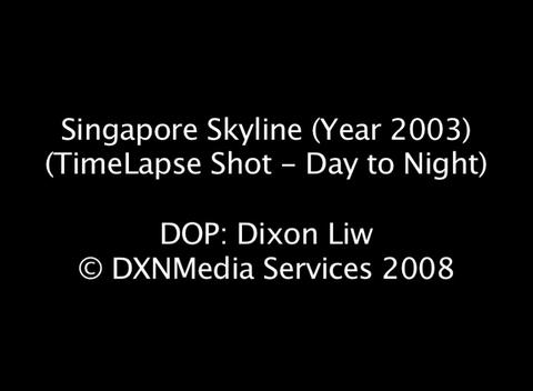 SingCBDTimelapse2003 Stock Video Footage