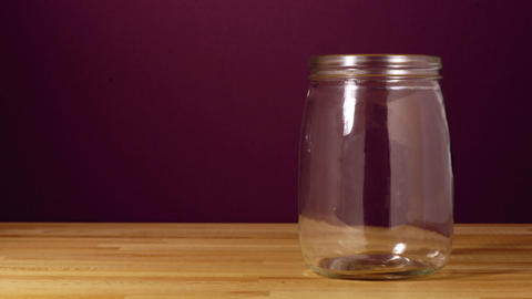 Savings Jar Stock Video Footage