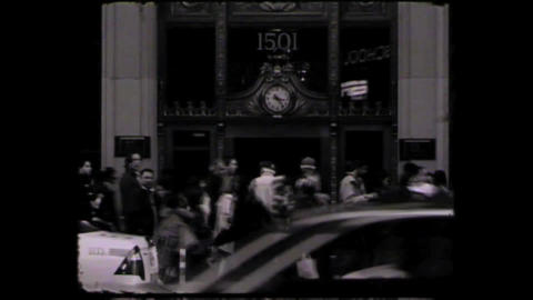 NYC Times square Stock Video Footage