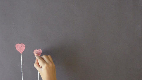 Heart Flower Background, Live Action