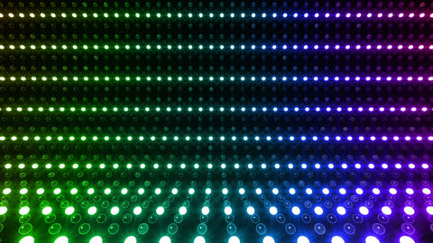 LED Wall 2 S Eb 1 TBR HD Stock Video Footage