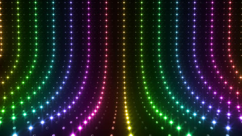 LED Wall 2 S Es 1 LRR HD Stock Video Footage