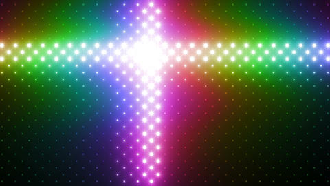LED Wall 2 Wb Bs 1 LRR HD Stock Video Footage